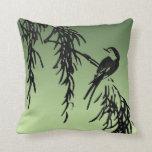 Bird on a Branch Pillows