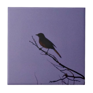 Bird on a Branch Tile