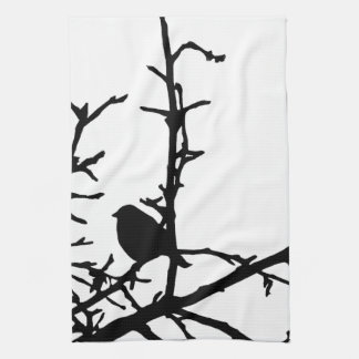 Bird on a Branch Towels