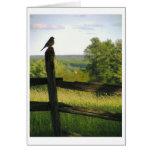 Bird on a Fence Card