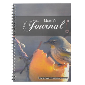 Bird on a Half-Eaten Apple Journal
