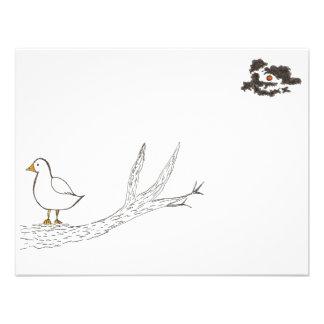 Bird on a Limb Personalized Invitations