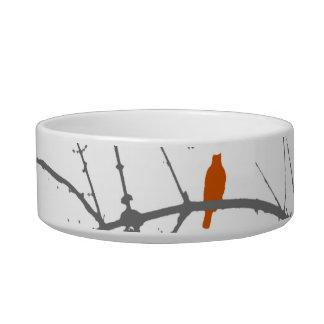Bird on a Maple Bowl