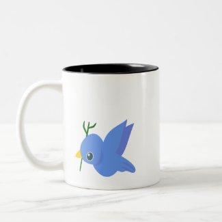Bird On A Mug