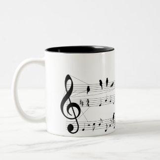 Bird on a Score mug