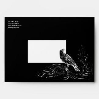 Bird on a Scroll Envelopes