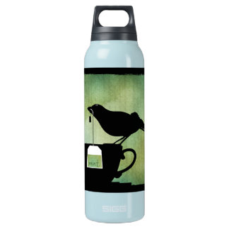 Bird on a Teacup Insulated Water Bottle