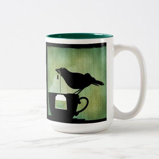 Bird on a Teacup Mug