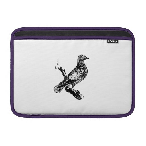 Bird on a Tree Branch Sleeves For MacBook Air