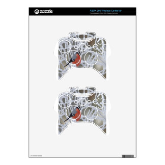 Bird On An Icy Branch Xbox 360 Controller Skins
