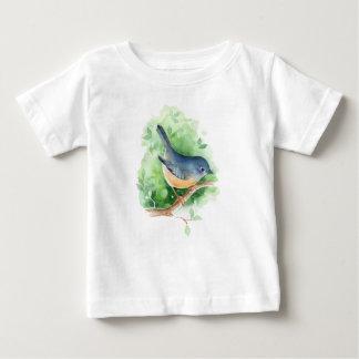 Bird on branch baby T-Shirt