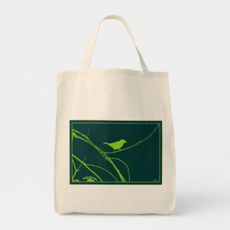 Bird On Branch Tote