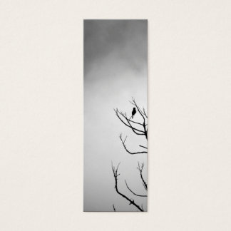 Bird on Branches Bookmark Mini Business Card