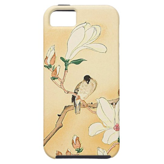 Bird on Magnolia iPhone 5 Case BEAUTIFUL