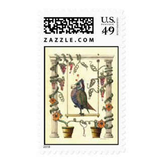 Bird on Swing 28¢ Postage Stamp