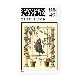 Bird on Swing 44¢ Postage