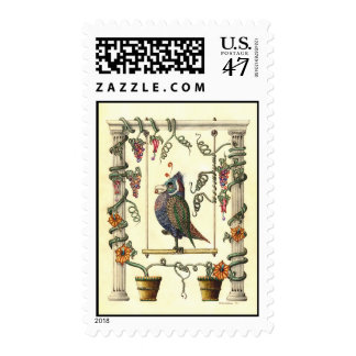 Bird on Swing 44¢ Postage Stamp