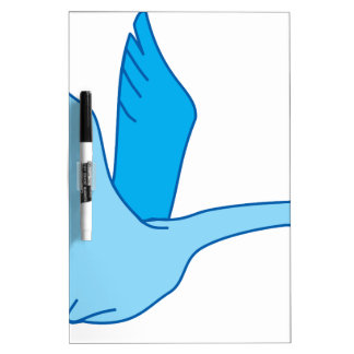 Bird on the Fly Dry Erase Board