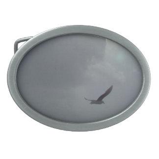 bird on the sky vo1 oval belt buckles