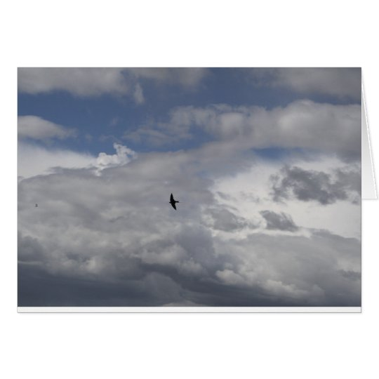 Bird On The Wind Card