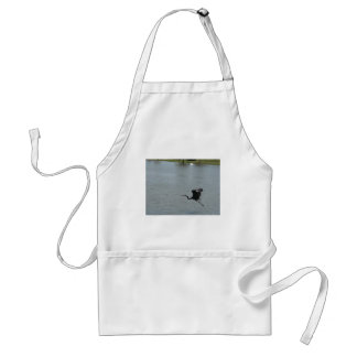 bird over water adult apron