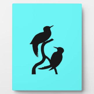 bird peace love joy display plaques