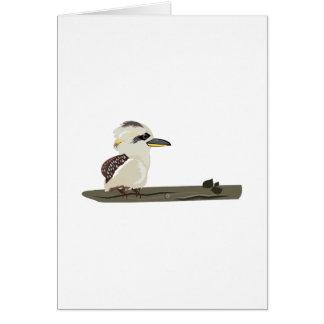 Bird Perch Greeting Card