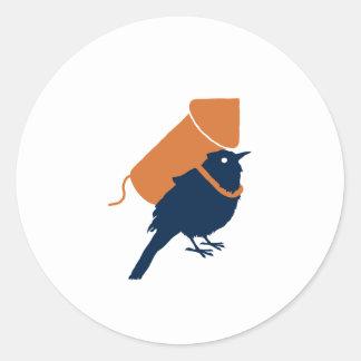 Bird Pride Classic Round Sticker