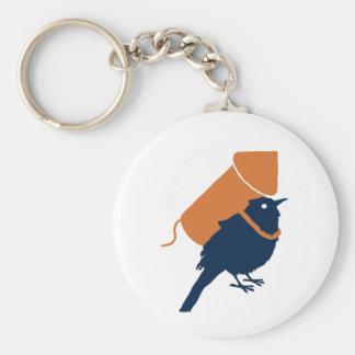 Bird Pride Key Chain