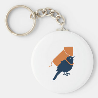 Bird Pride Keychain