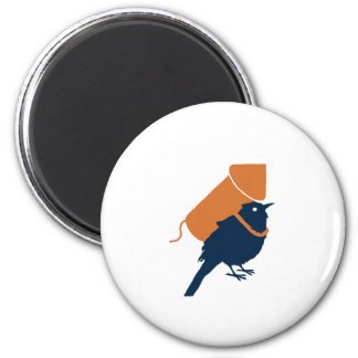 Bird Pride Fridge Magnet