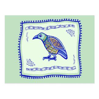 Bird Quilt Postcard