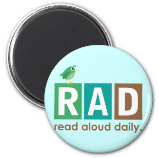 Bird RAD - Read Aloud Daily Reading Gift Magnets