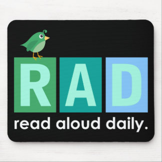 Bird RAD - Read Aloud Daily Reading Gift Mouse Pad