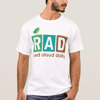 Bird RAD - Read Aloud Daily Reading Gift T-Shirt