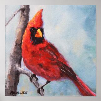 Bird Red Cardinal Fine Art Print