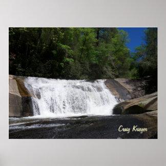 Bird Rock Falls, NC Poster
