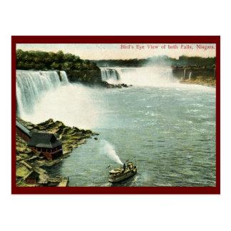 Bird s Eye View Niagara Falls Vintage Postcards