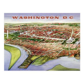 Bird s-eye view of Washington D C 1901 Postcards