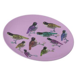 Bird Sanctuary Custom Plate