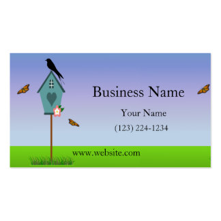 Bird Scene Double-Sided Standard Business Cards (Pack Of 100)