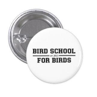 Bird School Which Is For Birds Pinback Button