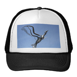 Bird Sculpture Cap Hat
