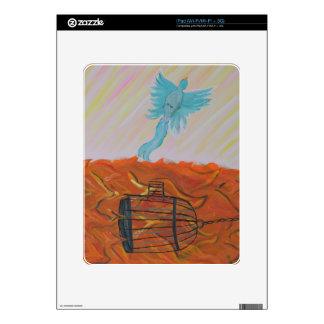 Bird Set Free iPad Skin