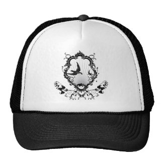 Bird shield trucker hat