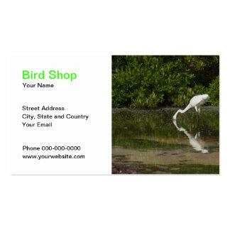 Bird Shop Business Card Business Cards
