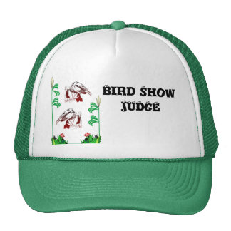 Bird Show Judge Mesh Hats