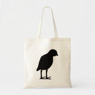 Bird Silhouette Canvas Bags