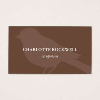Bird Silhouette Business Card