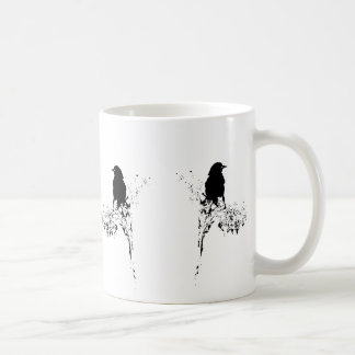 Bird Silhouette Classic White Coffee Mug